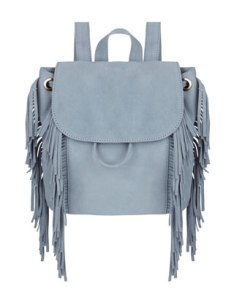 Accessorize Leather Fringed Backpack £24.50 (SALE)