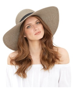 New Look Mink Textured Band Trim Floppy Hat £12.99