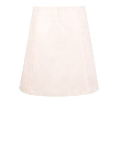 New Look Shell Pink Suedette A-Line Skirt £19.99
