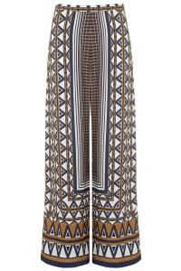 Topshop Geometric Mirror Print Wide Leg Trousers £42.00