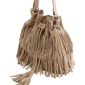 Rose Gal Tassels and Suede Cross Body Bag £17.10