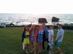 Me, Alice, Toran, Alice, Aaron, Connor and Jonny