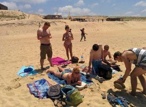 On the Beach in Hossagor