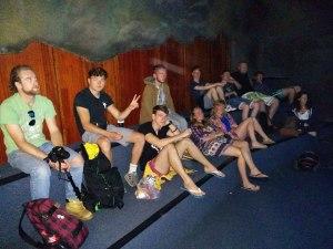 Eating in the Aquarium