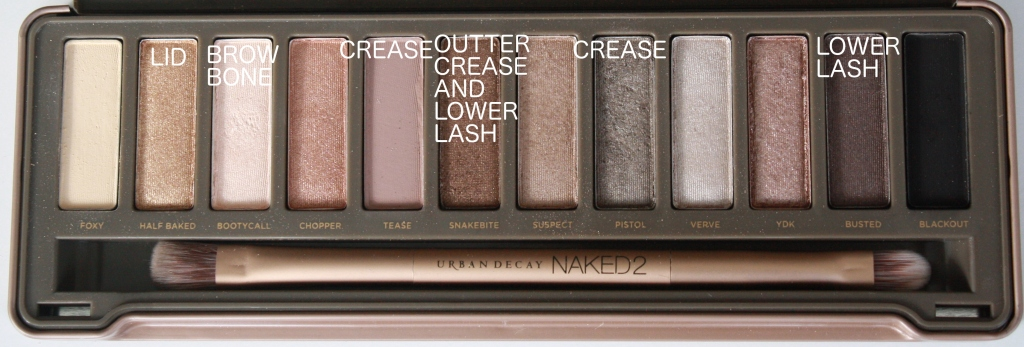 naked urban decay christmas makeup