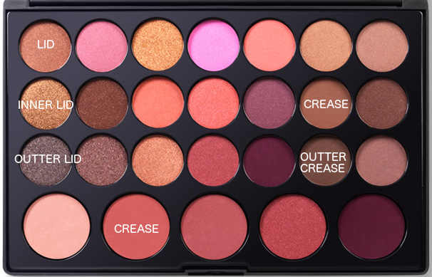 blushed neutrals palette makeup